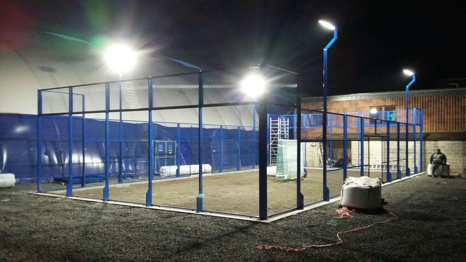 Construction Terrain Padel TC Plainchamps