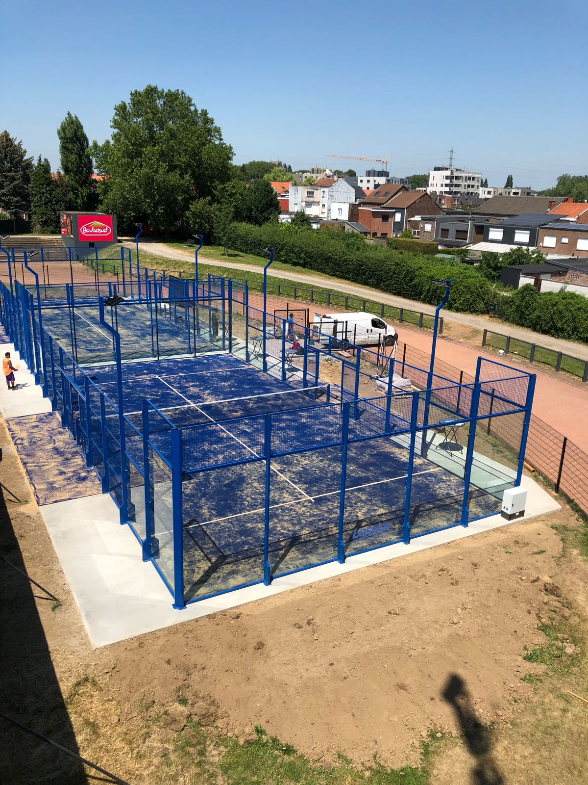 construction aménagement terrain de padel